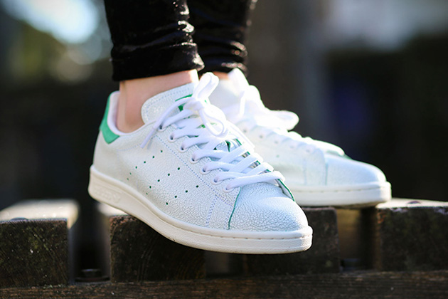 82ccc371b5e97a Adidas Stan Smith Cracked Leather 2