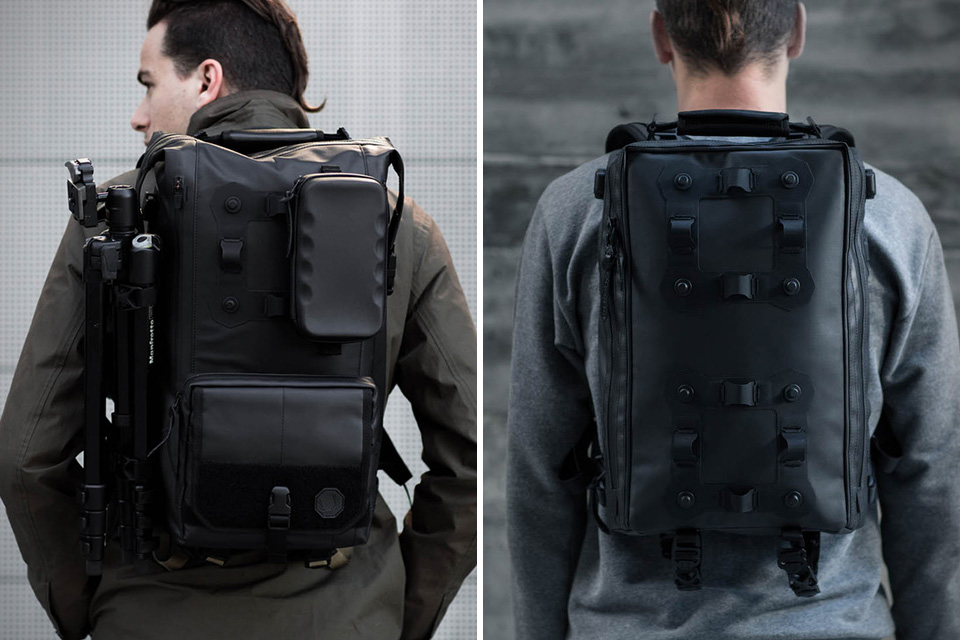 b0db993ba04d Black Ember Modular Urban Backpacks