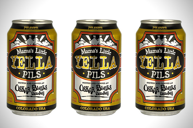 Oskar Blues Mamas Little Yella Pils