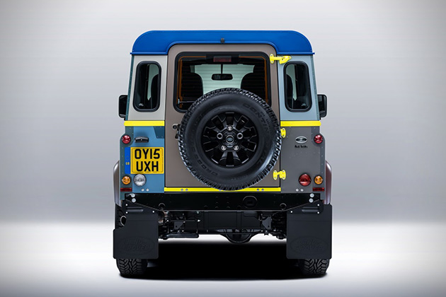 Paul Smith x Land Rover Defender 4