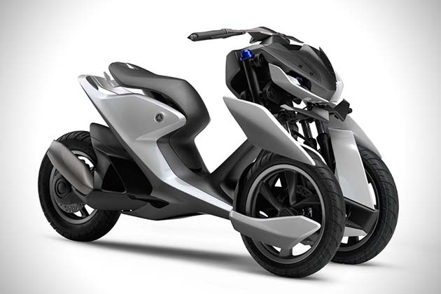 Yamaha 03GEN-F And 03GEN-X Scooters 7