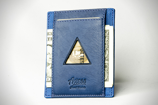 Axess Slim Front Pocket Wallets 4