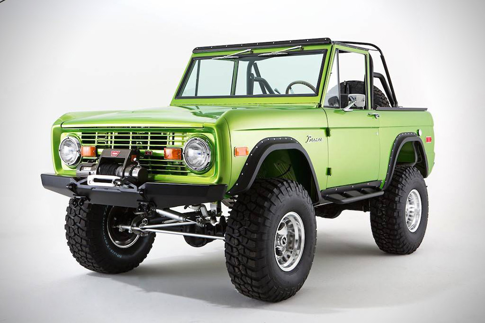 The New Ford Bronco >> Classic Ford Broncos | HiConsumption