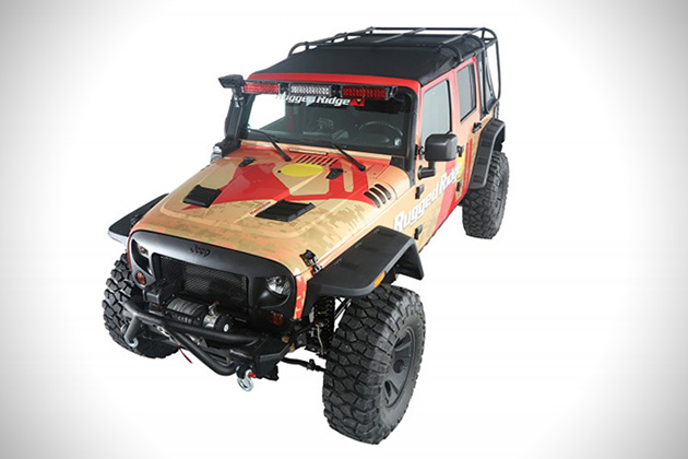 Exo-Top For Jeep Wranglers 2