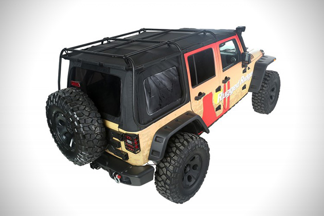 Exo-Top For Jeep Wranglers 3