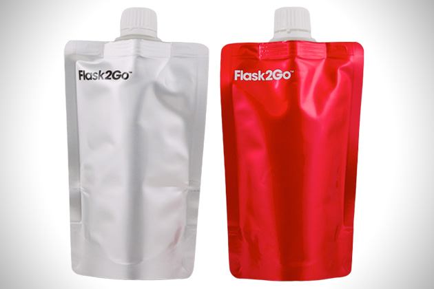 Flask2Go Reusable Liquor Pouch 3