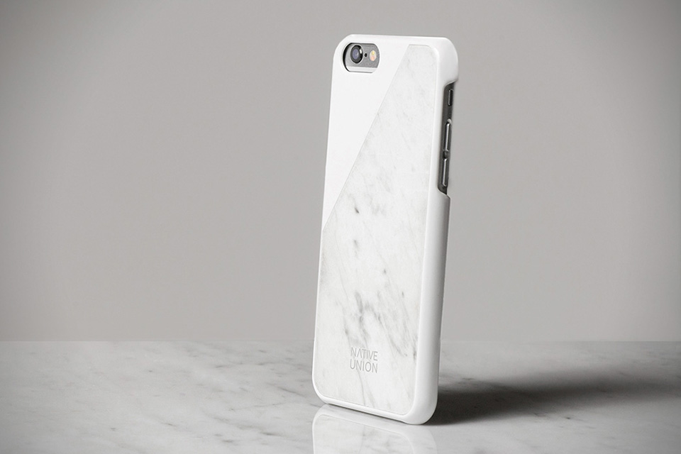 quality design df860 642d6 Marble iPhone 6 Case by Native Union | HiConsumption