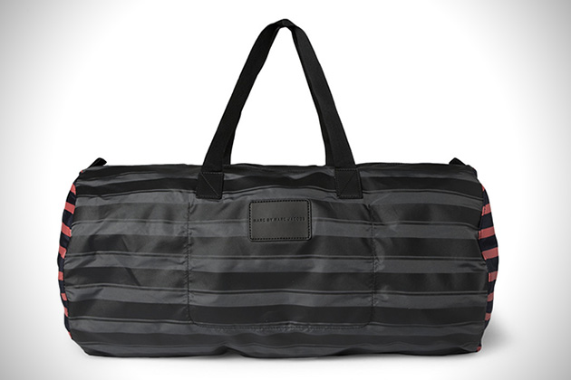 Marc by Marc Jacobs Striped Duffle