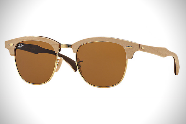 Ray-Ban Clubmaster Wood 2