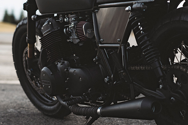 1978 Honda CB750 Ultra Noir by Clockwork Motorcycles 4