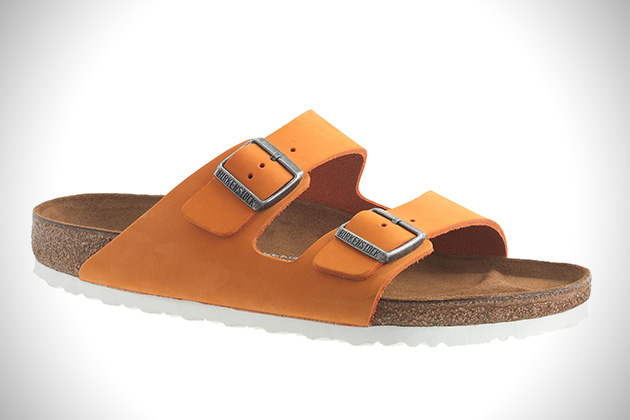 Birkenstock for J Crew Arizona Nubuck Sandals