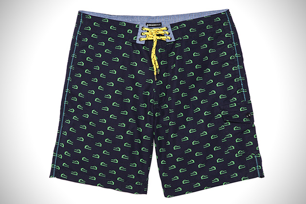 Burkman Bros Alligator Board Shorts