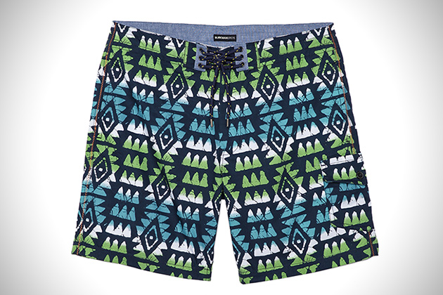 Burkman Bros Tribal Board Shorts