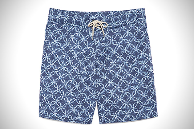 Faherty Brand Moonlight Batik Board Shorts