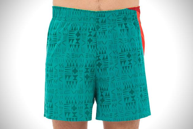 Janji Haiti Print Shorts