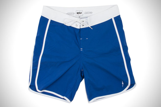Lightning Bolt Core Scallop Board Shorts