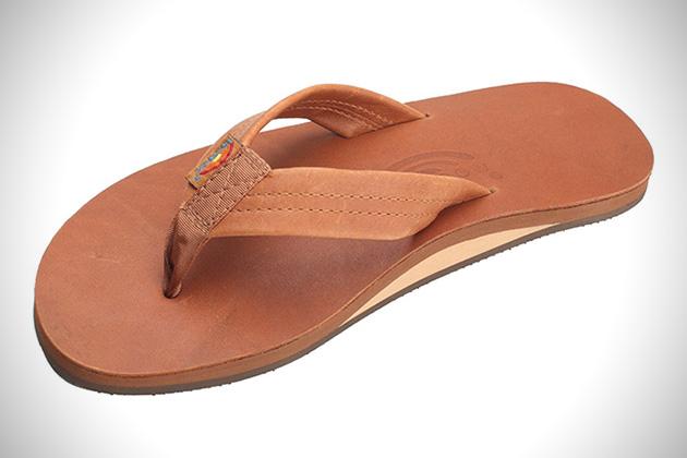 Rainbow Two-Tone Sandals