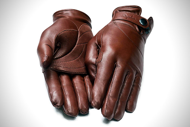 Rapha Leather Town Gloves