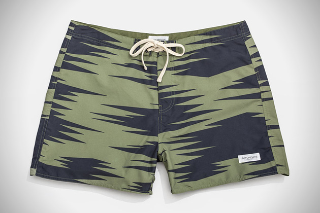 Saturdays NYC Safari Print Trunks