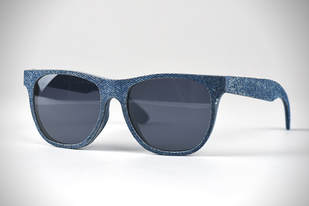 Solid Denim Sunglasses by Mosevic 1