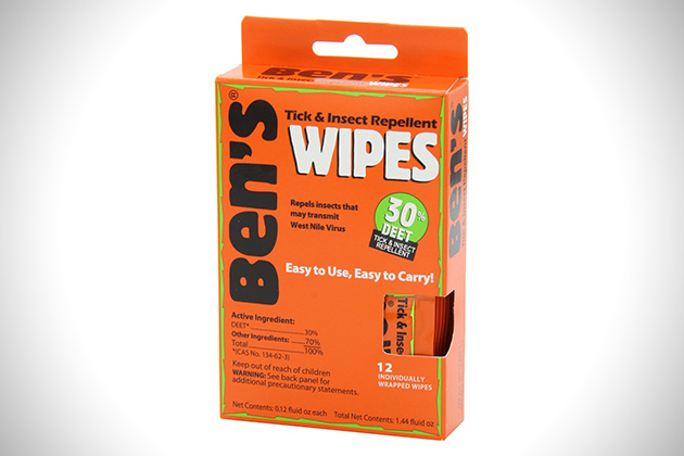 Tender Bens 30 Deet Travel Wipes