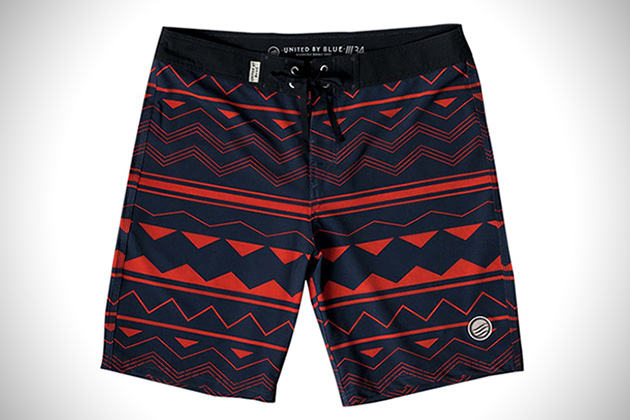 United by Blue Westwater Board Shorts