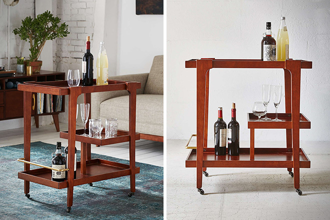 Embly Home Tovah Bar Cart