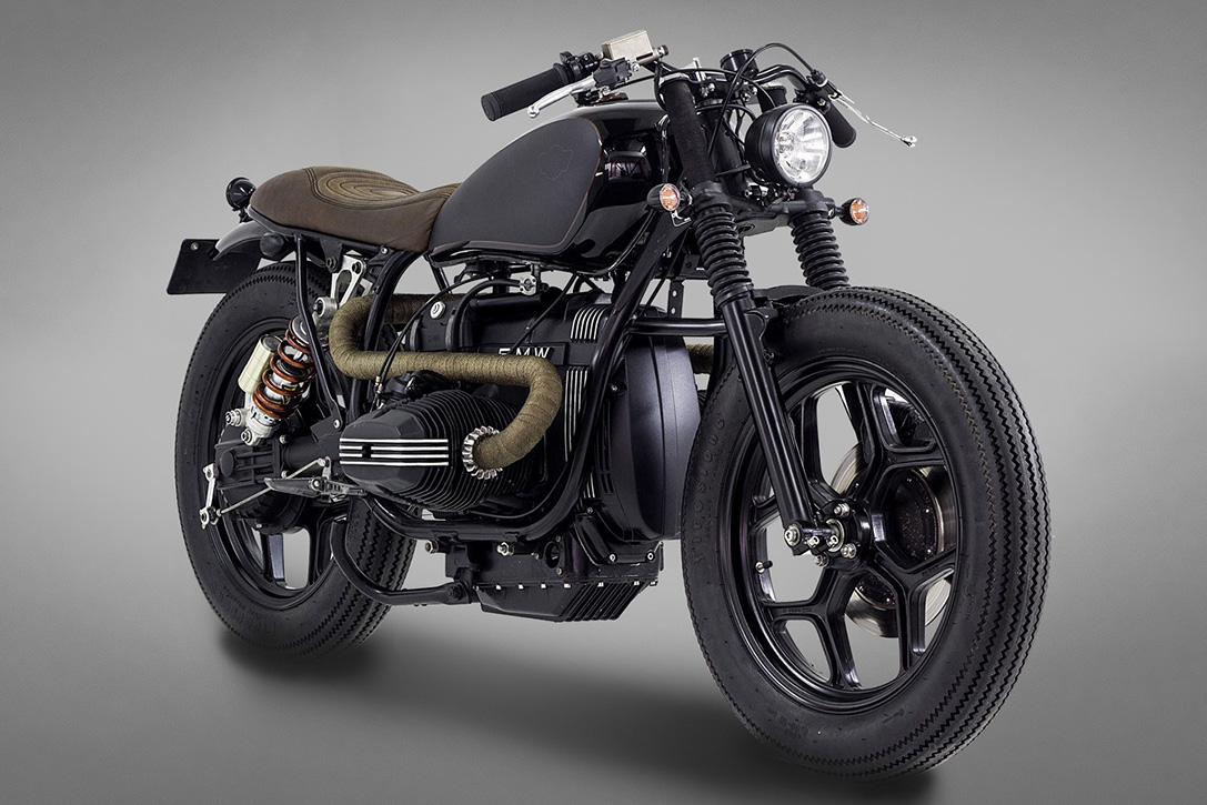 BMW R80 Indira Motorcycle by Ton-Up 2