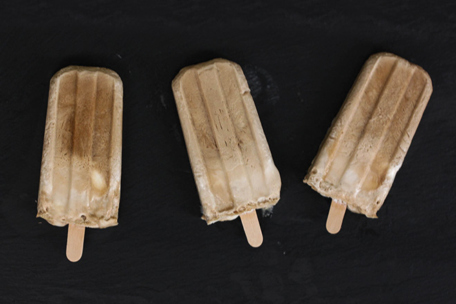 Beer Float Popsicles