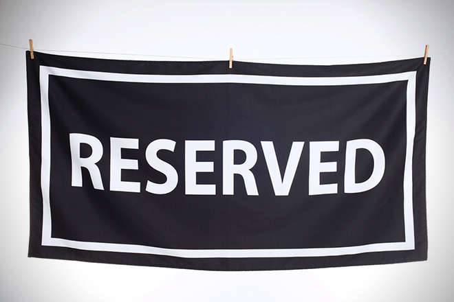 Brass Cove Reserved Beach Towel