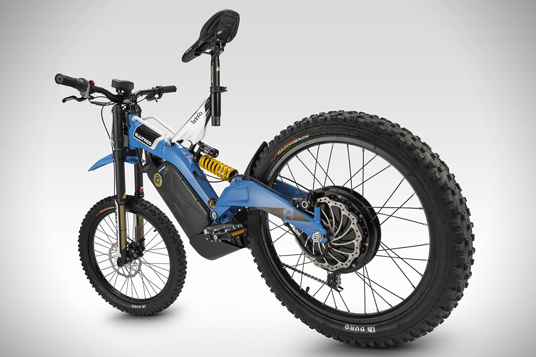 Bultaco Brinco Off Road Electric Bike Hiconsumption
