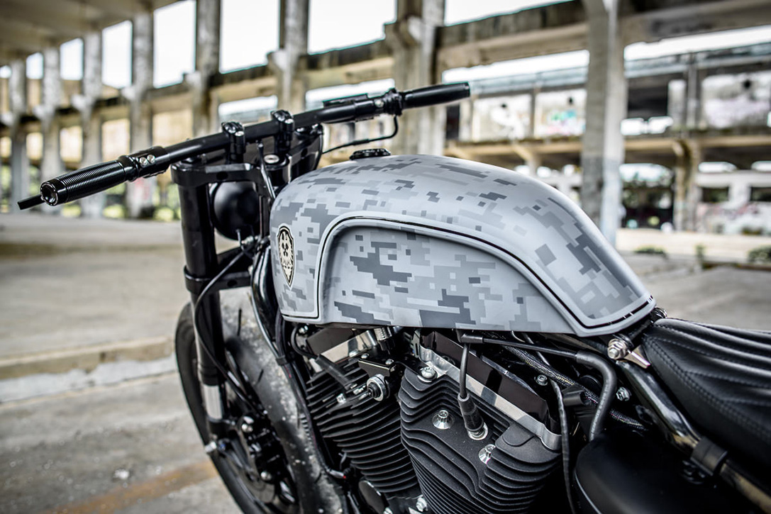 Custom Harley-Davidson Forty-Eight by Rough Crafts 3