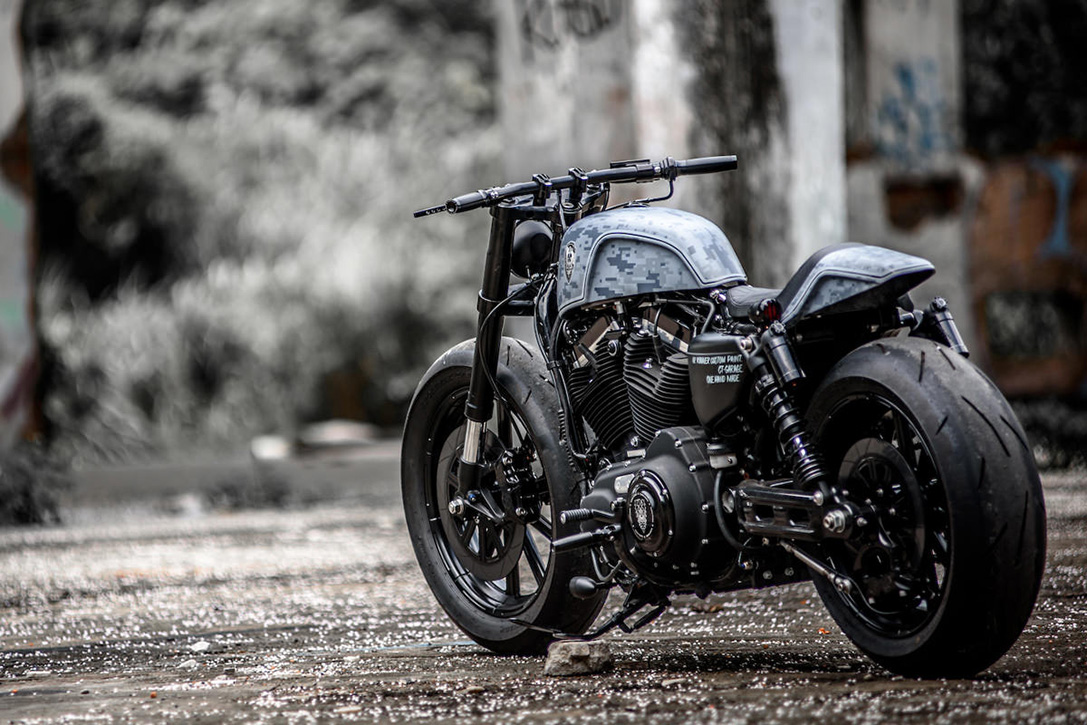 Custom Harley-Davidson Forty-Eight by Rough Crafts 4