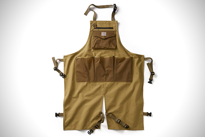 Work It: The 12 Best Shop Aprons For Men | HiConsumption