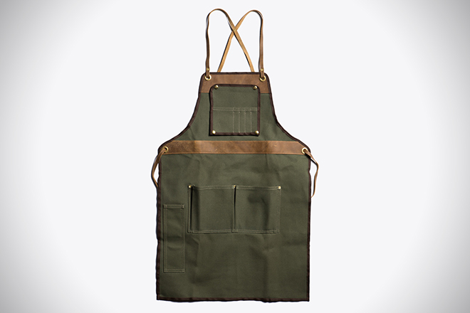 Work It The 60 Best Shop Aprons For Men HiConsumption Delectable Mens Apron Pattern