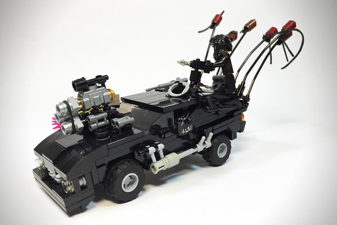 Mad Max- Fury Road LEGO Vehicles 11