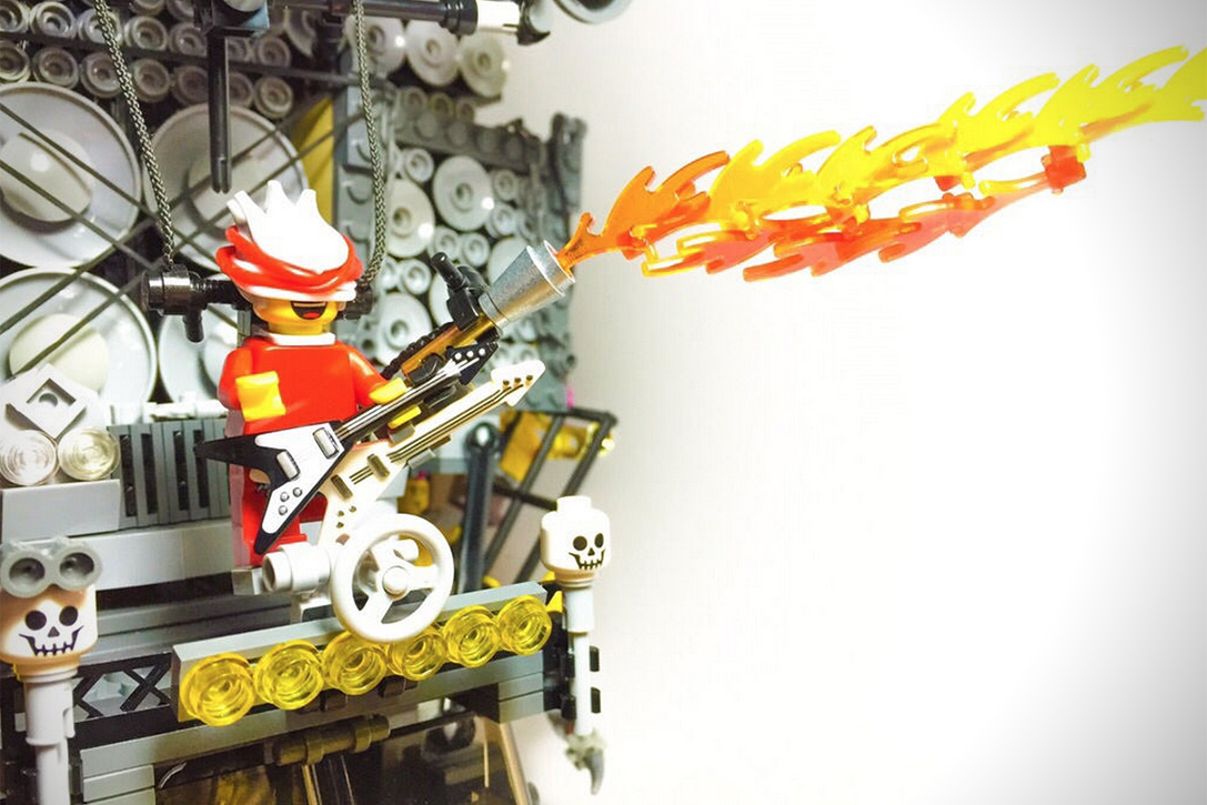 Mad Max- Fury Road LEGO Vehicles 12