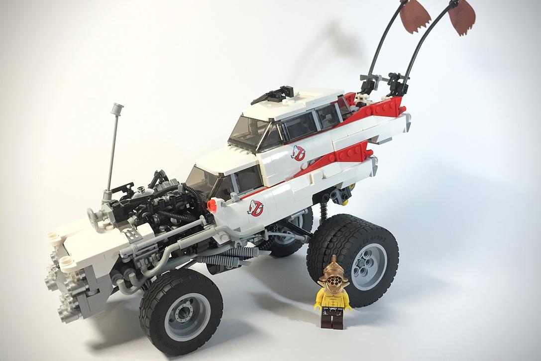 Mad Max- Fury Road LEGO Vehicles 4