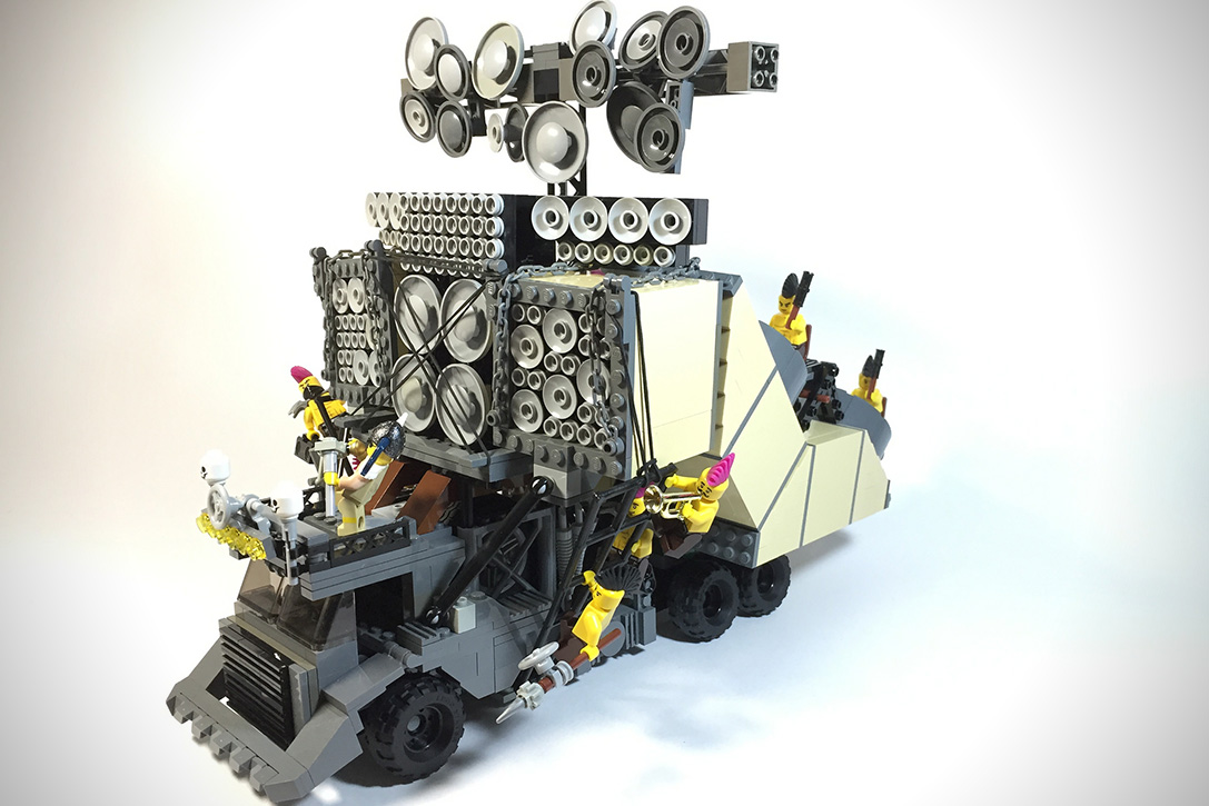 Mad Max Fury Road Lego Vehicles Hiconsumption