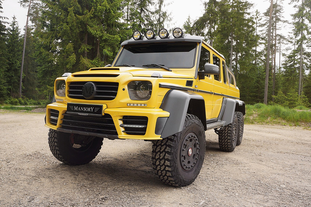Mercedes-Benz AMG 6x6 by Mansory 3