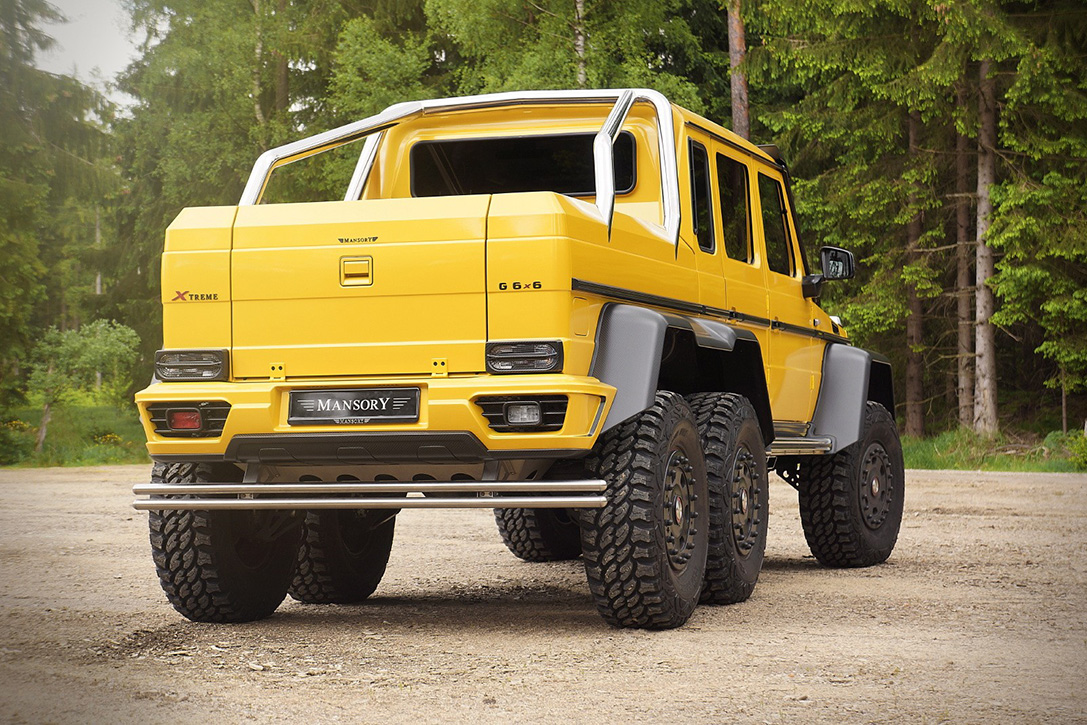 Mercedes-Benz AMG 6x6 by Mansory 7