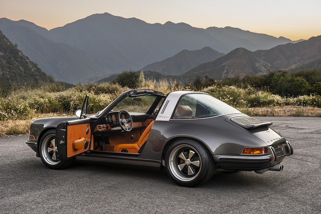porsche  targa  singer vehicle design hiconsumption