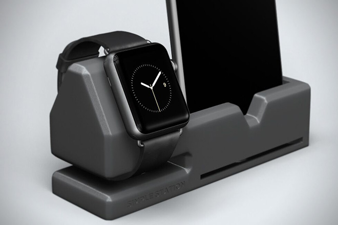 Simple Station Dock For Apple Watch And Iphone Hiconsumption
