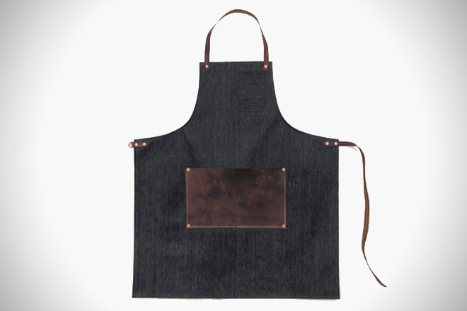 Stanley and Sons Leather Lap Apron