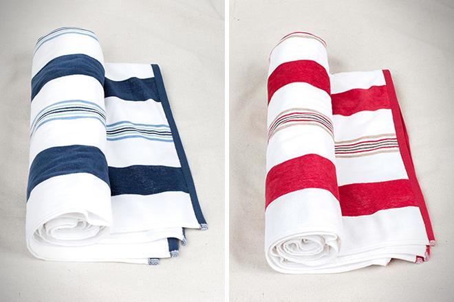 United By Blue Kassatex Stripe Towel
