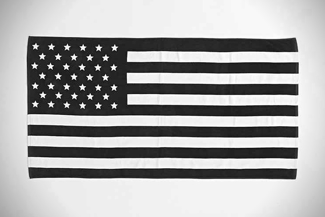 Urban Outfitters American Flag Beach Towel