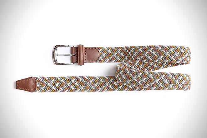 Anderson's Multicolored Stretch Woven Belt