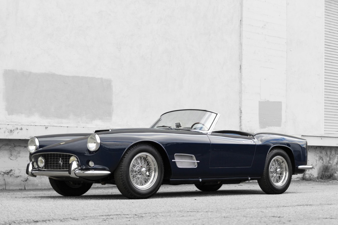 Auction Block- 1959 Ferrari 250 GT LWB California Spider 3