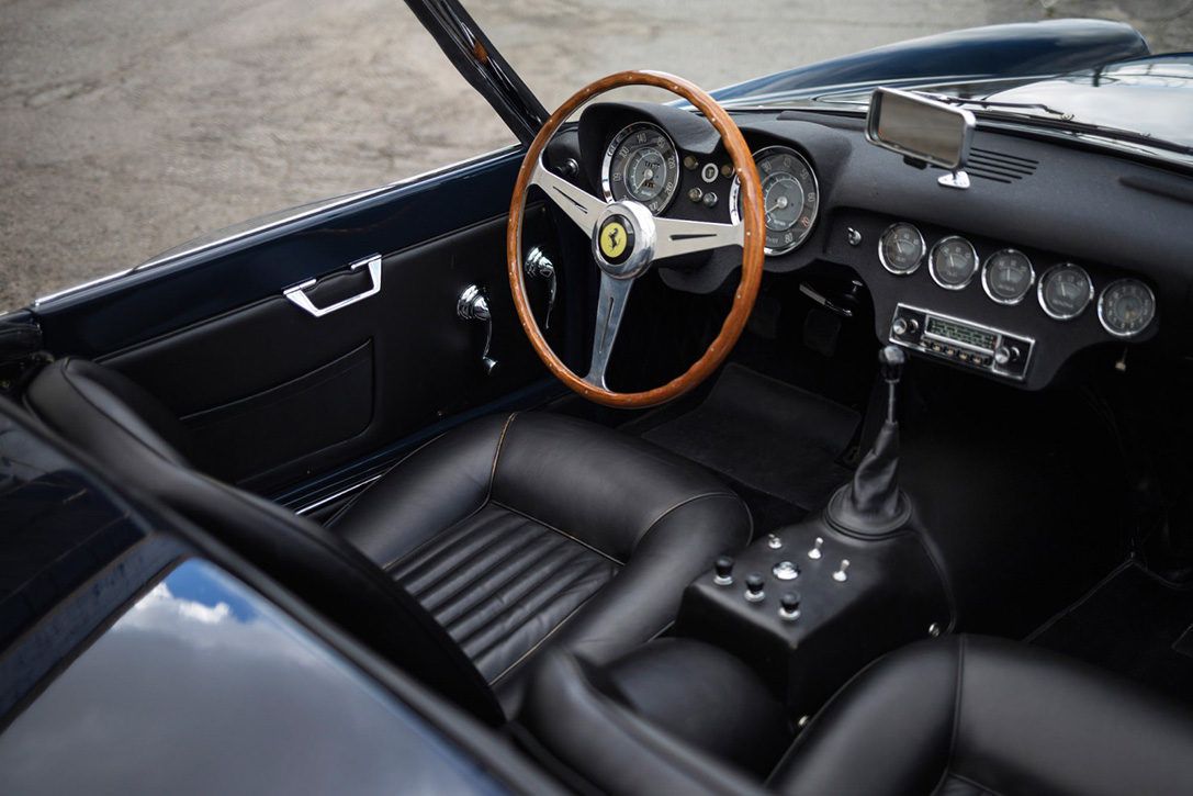 Auction Block- 1959 Ferrari 250 GT LWB California Spider 7