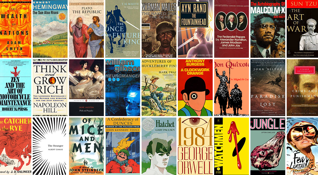 Required Reading: The 50 Best Books for Men